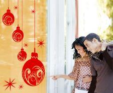 Weihnachtskugel Kugel Schaufenster Wandbild Wandaufkleber Dekoration Sticker