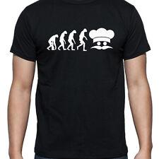 Evolución de chef Ornamento Camiseta T Shirt Xl Xxl Xxxl Regalos Zapatos equipos Sombrero