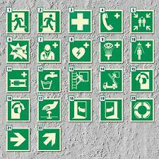 Notausgang Rettungszeichen Rettungswegschild Schild Nachleuchtend ASR A1.3