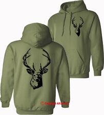 DEER Stag hunting shooting stalking hoodies birthday Xmas HOODIES - S-XXL