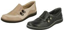 mujer Lucy Zapatos de piel sin cierres de Suave