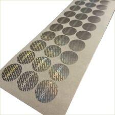 Tamper proof original security stickers labels (AvR009)