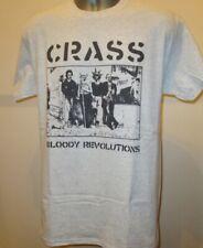 Crass Bloody Revolutions 80s Anarcho Punk T Shirt Poison Girls Discharge New 242