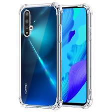 Hülle für Huawei Nova 5T Schutzhülle Anti Shock Handy Case Transparent Cover