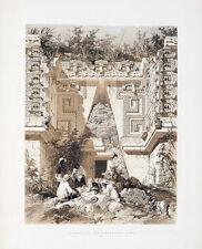 "Frederick Catherwood : ""Gate Casa del Gobernador, Uxmal"" (1844) — Fine Art Print"