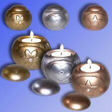 Céramique Titulaire Tea Light, Chandelier pour tealights Couleur au choix