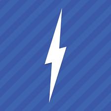Lightning Bolt Vinyl Decal Sticker