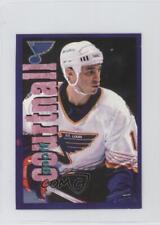 1998-99 Panini Album Stickers #156 Geoff Courtnall St. Louis Blues Hockey Card