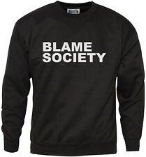 Sociedad de la culpa-Sudadera para hombre & Juventud Rebelde Anarquía