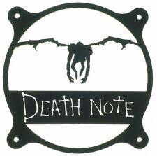 Death Note style Fan Grill Cover 120mm 140mm 180mm 200mm Custom PC mod case