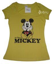 Ladies Disney Mickey Mouse Retro T Shirt Top Sizes XS-XL