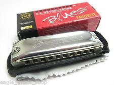Seydel Favorite Blues Harmonica Professional Harp with Aluminium Comb