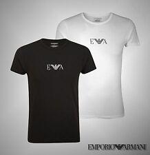 Mens Emporio Armani Stylish Crew Neck Short Sleeves Underwear T Shirt Size S-XL