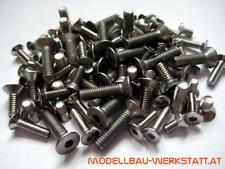EDELSTAHL Schraubenset Bodenplatte LRP S8 BXe screws