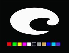 """COSTA """"C"""" Logo Vinyl Die Cut Decal Sticker"""