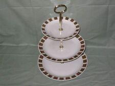Midwinter Shetland 3-Tier China Hostess Cake Plate Stand Jessie Tait Stylecraft