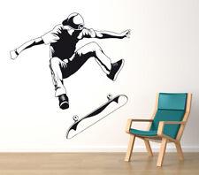 Skateboard - Skater Kinderzimmer Skate Deko Wohnzimmer Wandaufkleber WandTattoo