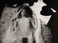 1974 Large IRINA IONESCO Photo Gravure FEMALE NUDE Fine Art Gothic Fetish France