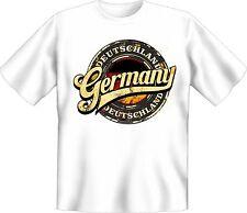 Germania T-Shirt Germania Bianco Regalo Compleanno Maglia Ben stampata