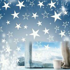 80 Sterne Fensteraufkleber Weihnachten  Fensterbilder Aufkleber ++viele Farben
