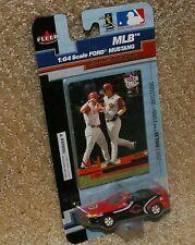 Cincinnati Reds Adam Dunn 2003 Ford Mustang plus trading card SCALE 1:64