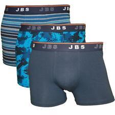 SET 3 JBS COTONE MIX tendenza SPORT TEMPO LIBERO Boxer Blu Navy S M L XL XXL