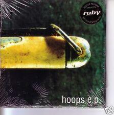 Ruby Hoops w/Salt Water & De Lata MIX CD Single SEALED