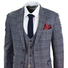 Costume homme tweed chevrons 3 pièces montre à gousset Peaky Blinders