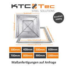 Schachtabdeckung Stahl SAB verzinkt befahrbar 5t Schachtdeckel Gullideckel Kanal