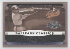 2002 Fleer Authentix Ballpark Classics #8BC Paul Molitor Milwaukee Brewers Card