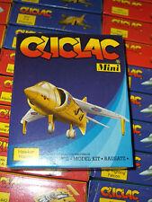 80'S CLICLAC MINI HAWKER HARRIER MINT MIB HELLER  PLASTIC MODEL KIT