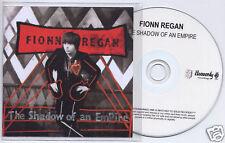 FIONN REGAN The Shadow Of An Empire UK 10-trk promo test CD