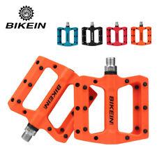 BIKEIN MTB Bicycle pedals Flat Platform Nylon Fiber Mountain Road Bike Pedals