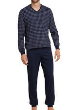 Schiesser Herren Jersey Pyjama Schlafanzug  48 50 52 54 56 58 60 62 *159618* NEU