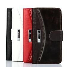 Custodia Bookstyle Protettiva per iPhone Samsung Galaxy Case vetro blindato FA