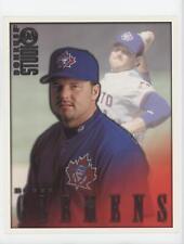 1998 Donruss Studio 8x10 Portraits #21 Roger Clemens Toronto Blue Jays Card