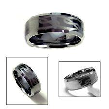 9mm Men's Tungsten Carbide Engraved Celtic Ring