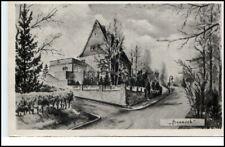 Berggießhübel Künstlerkarte Haus Tanneck AK DDR 1953