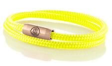 "Marinera _ maritimes segeltau pulsera ""Norderney"" Neon-amarillo 4mm"