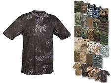 Mil-Tec T-shirt Single Jersey Freizeitshirt Tarnshirt Tarnung Camouflage XS-4XL
