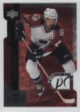 1997 Upper Deck Black Diamond Premium Cut Double PC11 Peter Forsberg Hockey Card