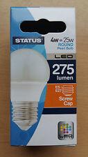 4w LED Golf Round Bulb Lamp ES Screw In E27 Pearl Warm White Bulbs 2 4 10 25w