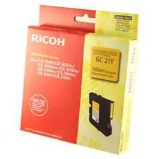 original Ricoh 405535 Amarillo Gel Cartucho de Tinta (GC21Y)