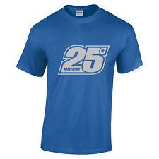 MAVERICK Vinales 25 pilote MotoGP pour SUZUKI silver texte homme femme tailles enfants