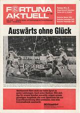 BL 81/82  Fortuna Düsseldorf - 1. FC Nürnberg