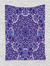 Mandala Tapestry Bohemian Floral Circle Print Wall Hanging Decor