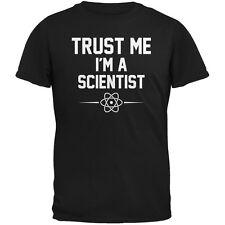 Trust Me Im A Scientist Black Adult T-Shirt