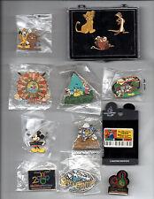 Walt Disney World-Cast Member Exclusive Pins-Most New Unopened- Fun Souvenir