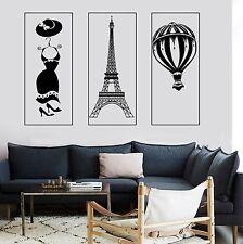 Wall Mural Paris Eiffel Tower Fashion Dress Romantic Hot Air Balloon  z2857