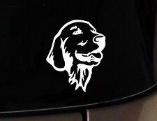 I Love My Golden Retriever Dog iPad Vinyl Car Window Decal Sticker Mom Rescue